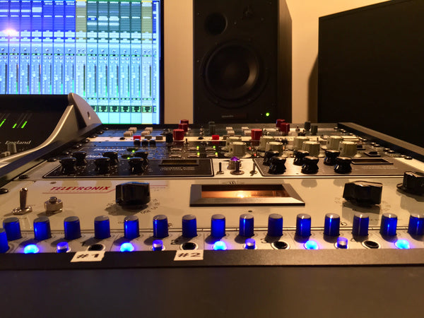 SSL XL Desk Installation - Pro Audio Boutique Installations
