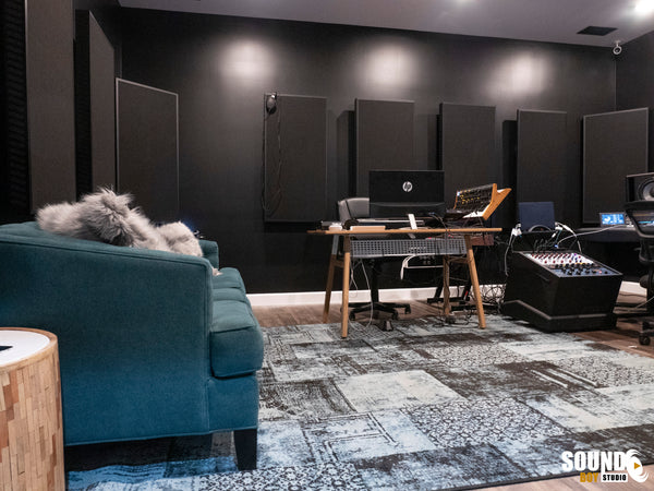 Real Traps Acoustic Treatment - Pro Audio Boutique Recording Studio Installations