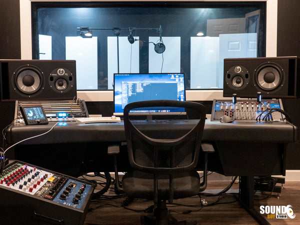 Sound Boy Control Room - Recording Studio Installations - Pro Audio Boutique