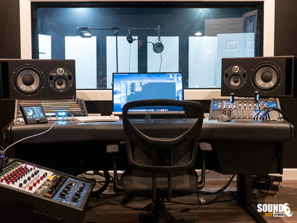 Sound Boy Control Room installed by Pro Audio Boutique