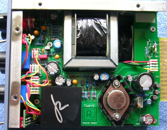 Rascal Audio TWO-V Inside
