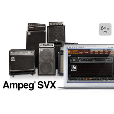 IK Multimedia Ampeg SVX Power DUO Bundle