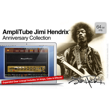 IK Multimedia AmpliTube Jimi Hendrix Power DUO Bundle