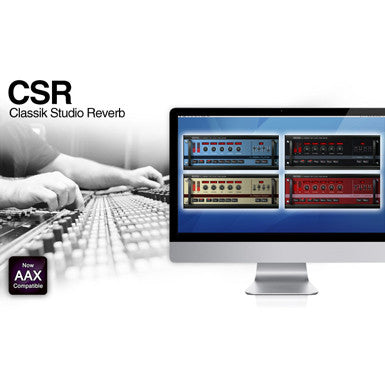 IK Multimedia CSR Classik Studio Reverb Software Suite