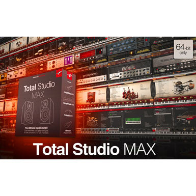 IK Multimedia Total Studio MAX Instruments and Effects Bundle