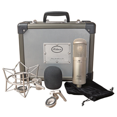 New! Peluso P-47 SS - Solid State Large Diaphragm Condenser Microphone