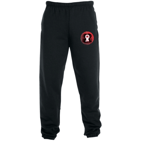 Embroidered Scrimzox Pants - MIDNIGHTVIBE