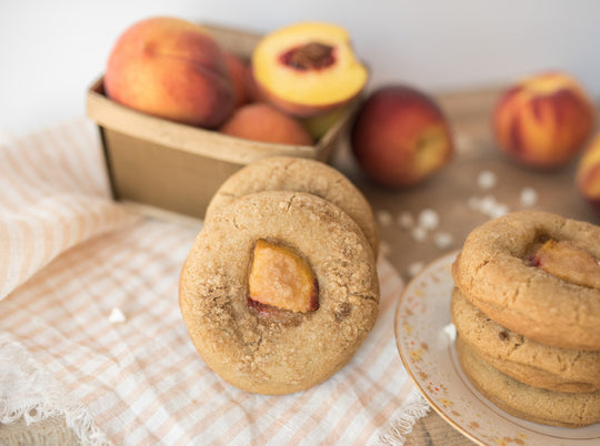 James & The Giant Peach Cobbler Cookies!
