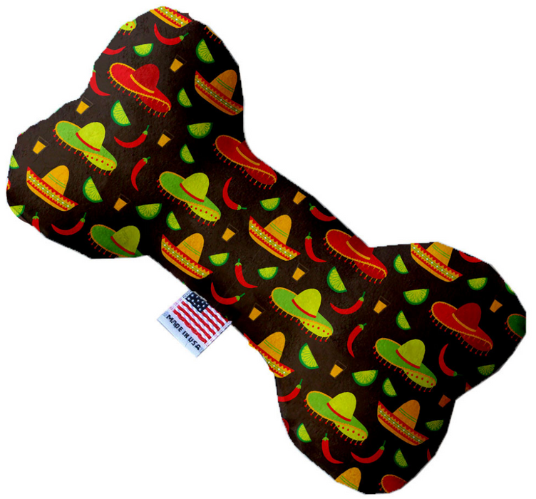 Canvas Bone Dog Toy - Bone Fiesta