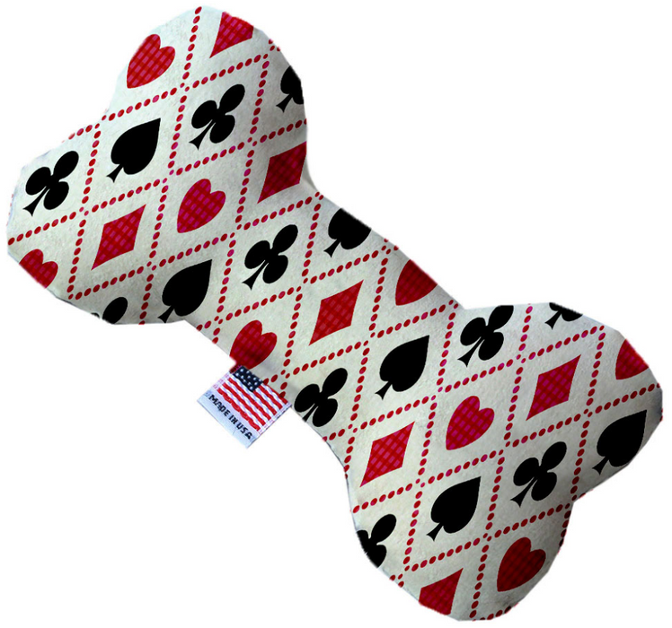 Canvas Bone Dog Toy - Vegas Luck