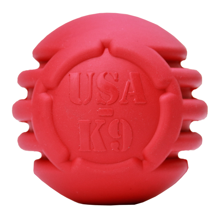 Ball Ultra Durable Rubber Toy - Red