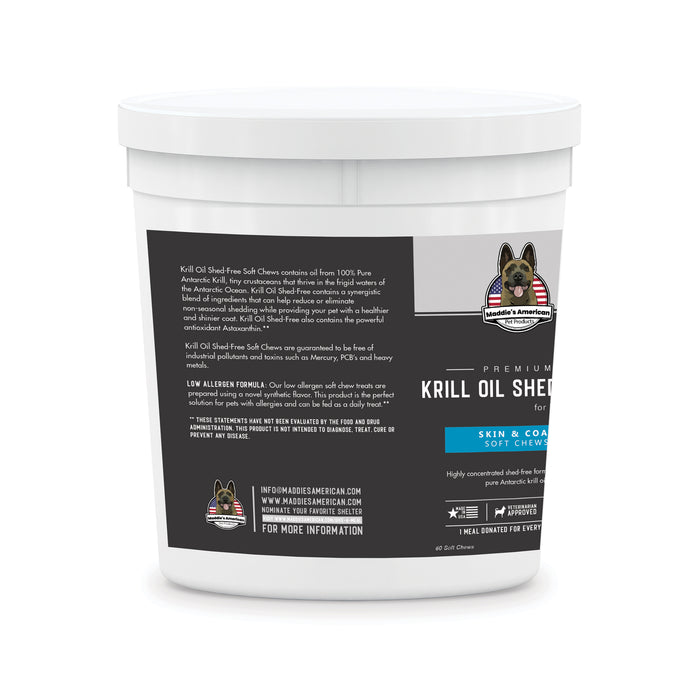 Premium Krill Oil Shed Free 60ct