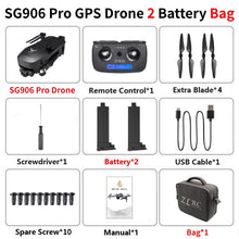 Load image into Gallery viewer, SG906 Pro Drone GPS 4K HD Two-Axis Anti-Shake Stable SD Card