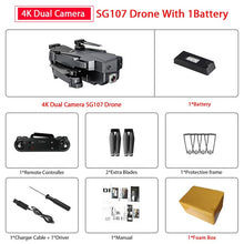 Load image into Gallery viewer, Drone with 4K WIFI FPV HD Dual Camera