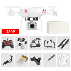 Drone 4k camera HD  air pressure fixed height four-axis aircraft