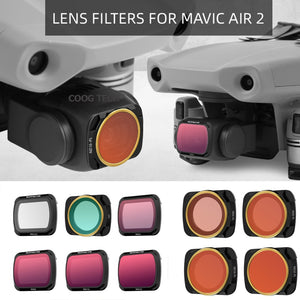 Drone Camera Lens Filters - Camera Not Included