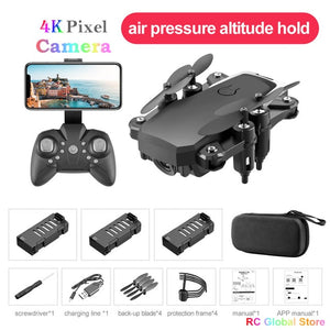 RC Drone UAV 4K HD with Camera Quadcopter Mini 606 Remote Control