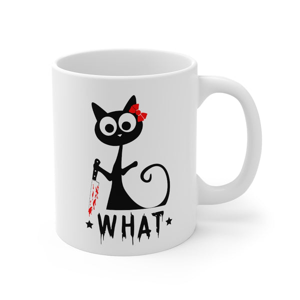 I Didn't Do it Kitty Mug