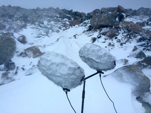 Rycote Cyclone On Location