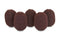 LAVALIER FOAMS BROWN (1 PACK OF 5)