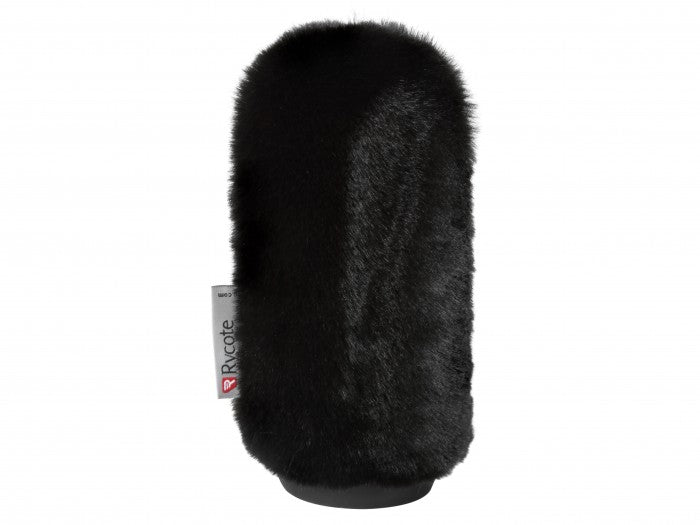 15CM SHORT FUR SOFTIE BLACK