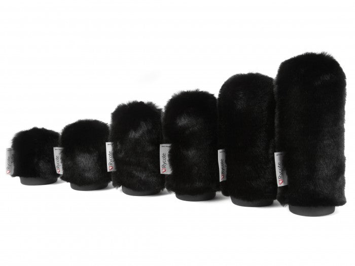 10CM SHORT FUR SOFTIE BLACK