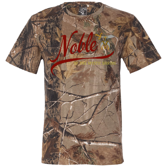 Noble of the Mystic Shrine Short Sleeve Camouflage T-Shirt