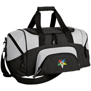 Order of the Eastern Star Small Colorblock Sport Duffel Bag - Kustom Keepsakes