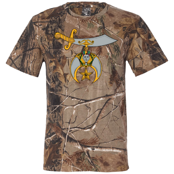 Shriners Short Sleeve Camouflage T-Shirt