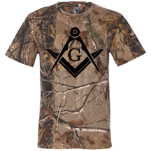 Black S&C Short Sleeve Camouflage T-Shirt