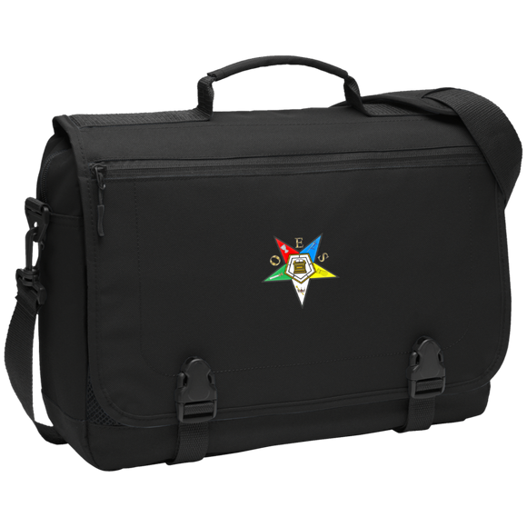Order of the Eastern Star Messenger Briefcase - Kustom Keepsakes