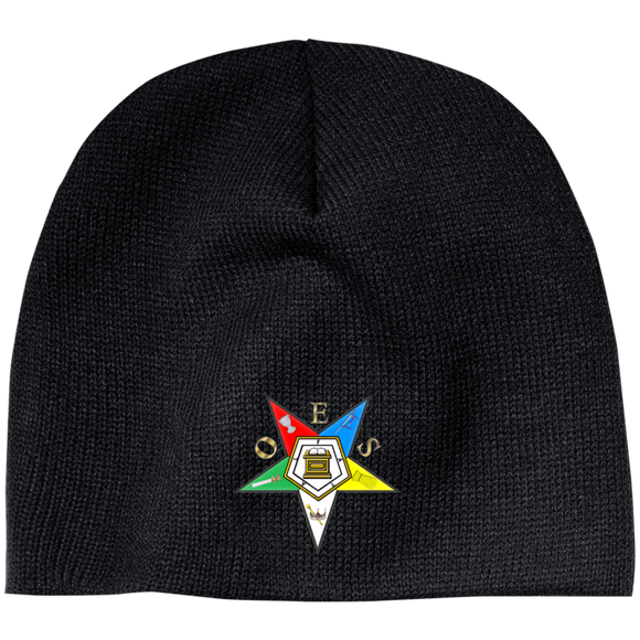 Order of the Eastern Star Acrylic Beanie - Kustom Keepsakes