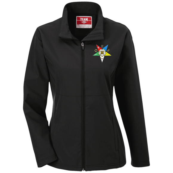 Order of the Eastern Star Ladies' Soft Shell Jacket - Kustom Keepsakes