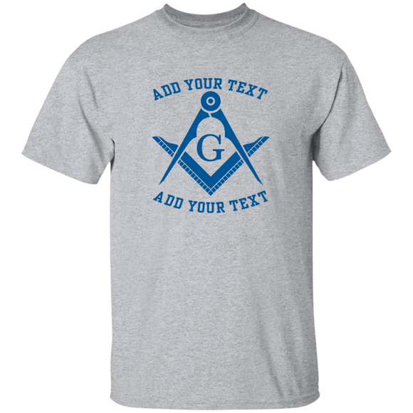 Personalized Blue S&C T-Shirt
