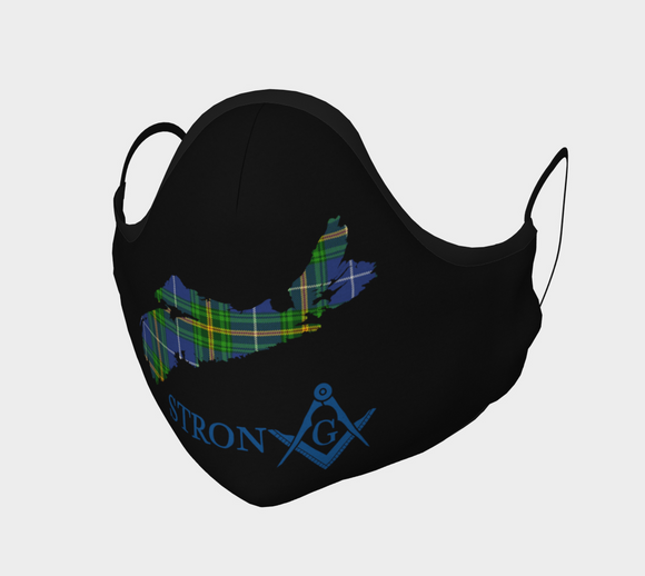 Nova Scotia Strong FreeMason Mask - Kustom Keepsakes