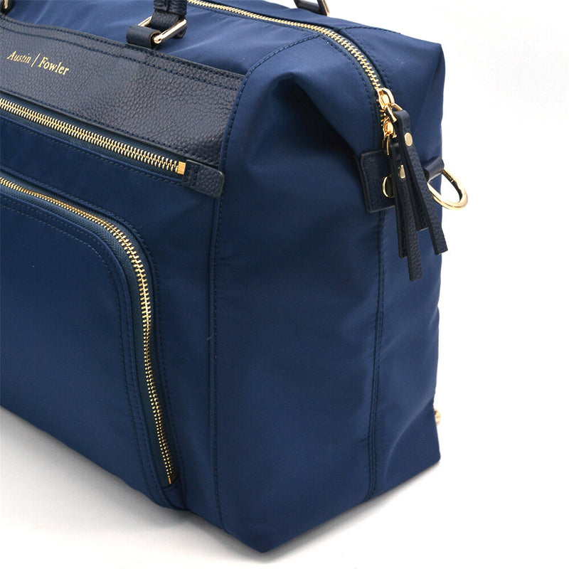 navy diaper bag work bag travel bag gym bag backpack diaper bag