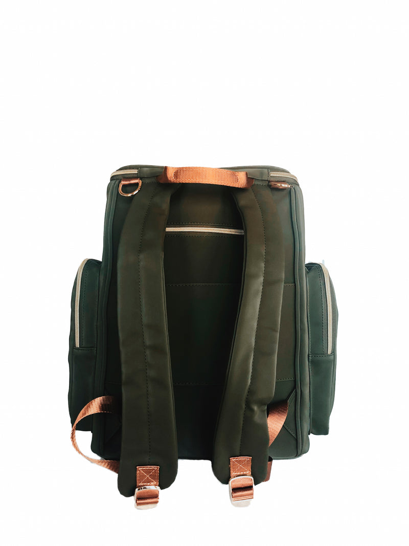 francesca backpack in olive