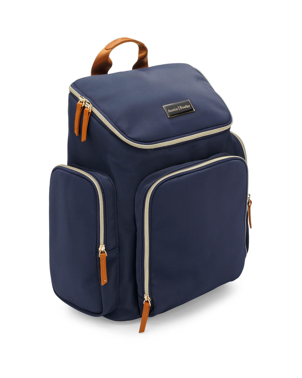 francesca backpack in navy blue