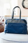 the briggs bag in navy blue