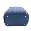 navy diaper bag backpack travel bag work bag women