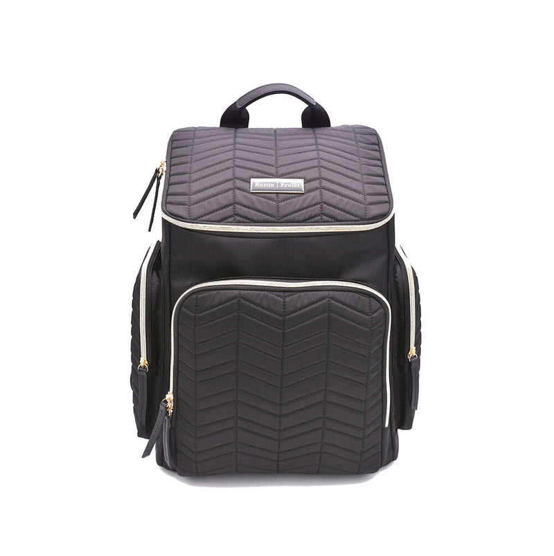black backpack diaper bag travel bag work bag women
