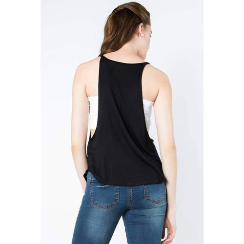 GAME ON TANK TOP WITH SOFT AND STRETCHY FABRIC