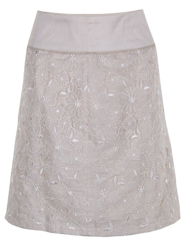 Floral Lace Skirt