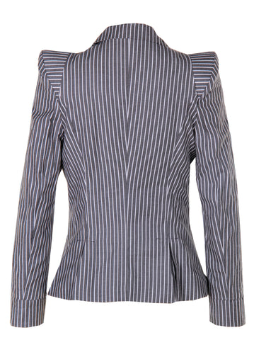Stripe Grey Blazer