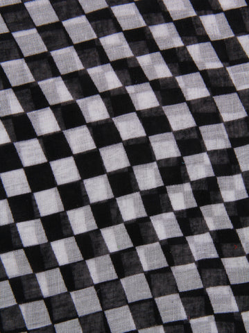Checker Print Scarf - -Scarves- Tenner Store - 2