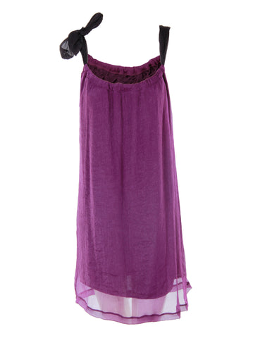 Purple Cami Dress - -Dresses- Tenner Store - 1
