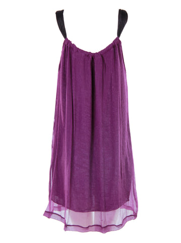 Purple Cami Dress - -Dresses- Tenner Store - 2