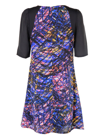 Texture Print Dress - -Dresses- Tenner Store - 2