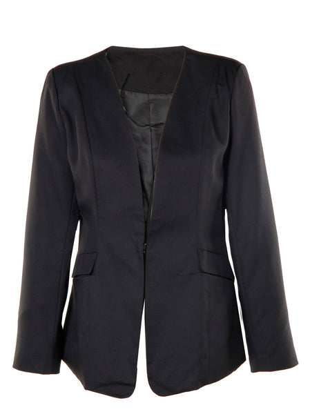 Black Blazer - -Jackets/Coats- Tenner Store - 1