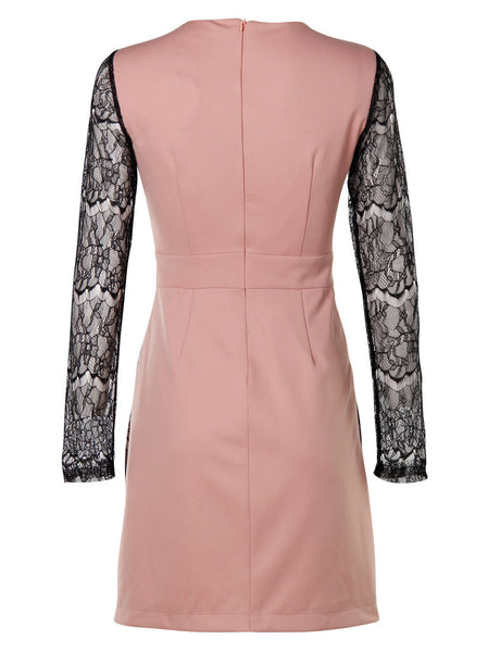Jennifer Lace Dress - -Dresses- Tenner Store - 2